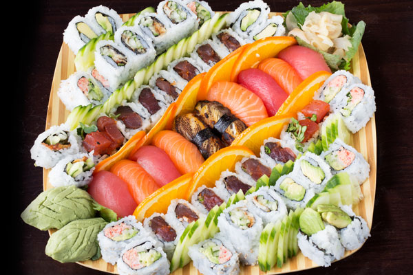 Standard Market Westmont Catering 187 Sushi Combo 2